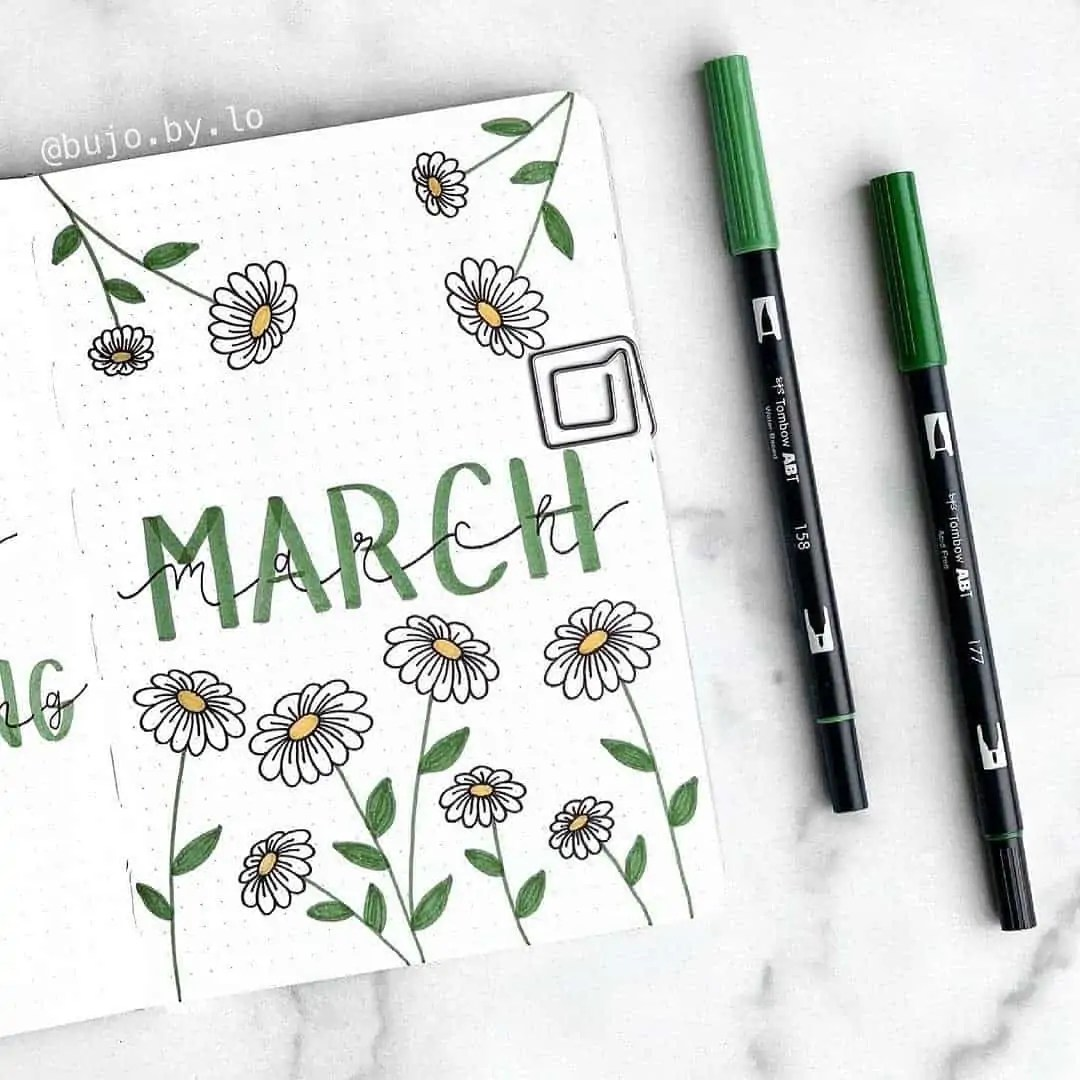 100+ Bullet Journal Ideas that you have to see and copy today! 98