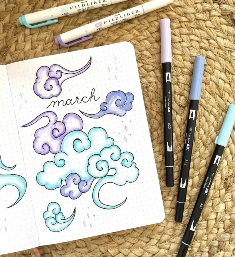 100+ Bullet Journal Ideas that you have to see and copy today! 356
