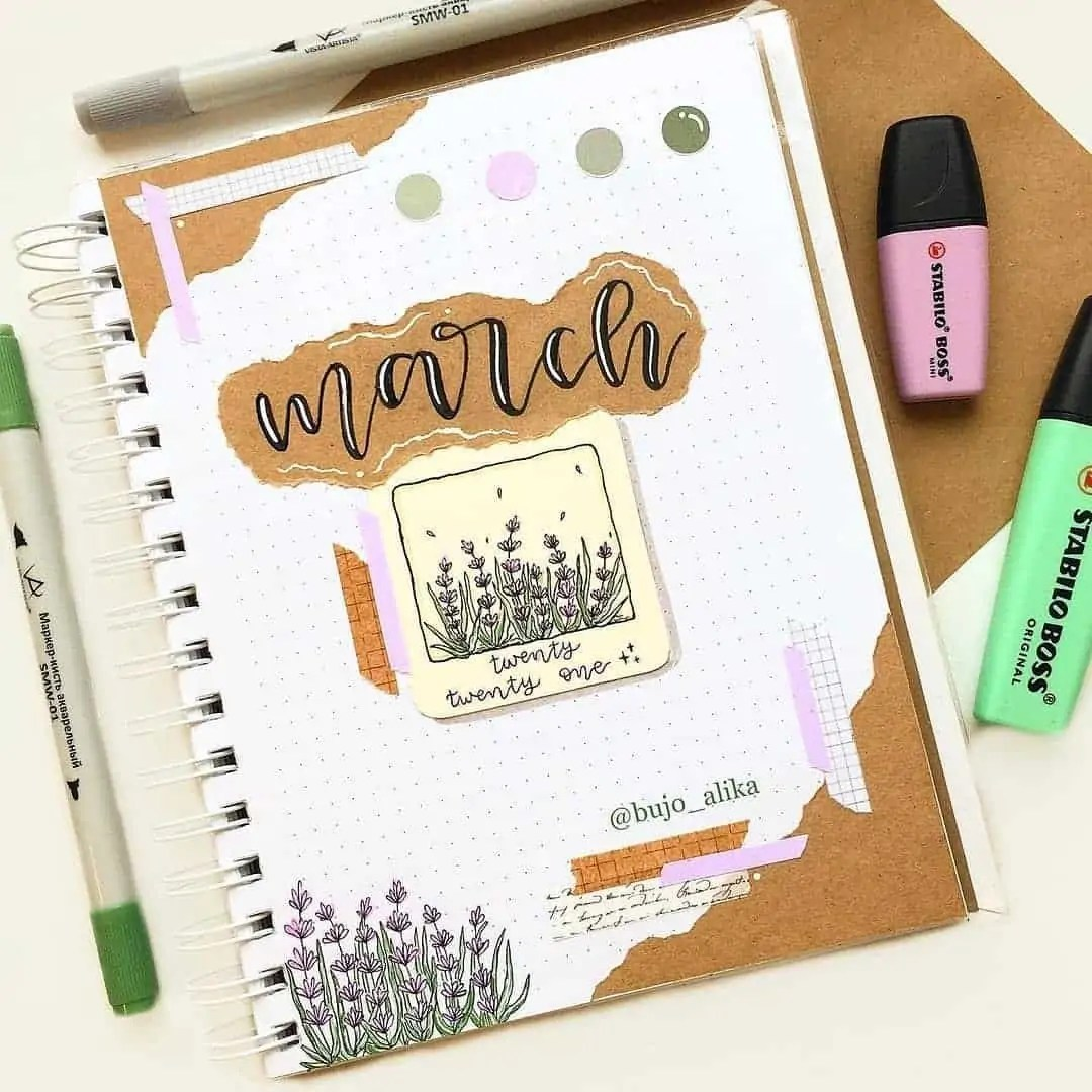 100+ Bullet Journal Ideas that you have to see and copy today! 88
