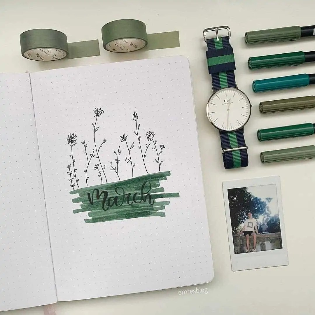 100+ Bullet Journal Ideas that you have to see and copy today! 62