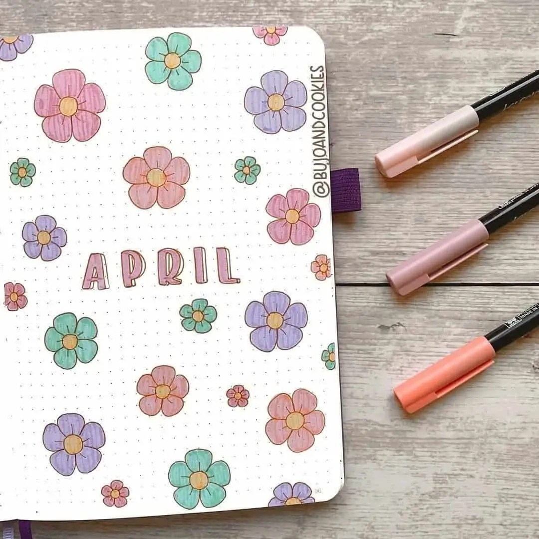 100+ Bullet Journal Ideas that you have to see and copy today! 154