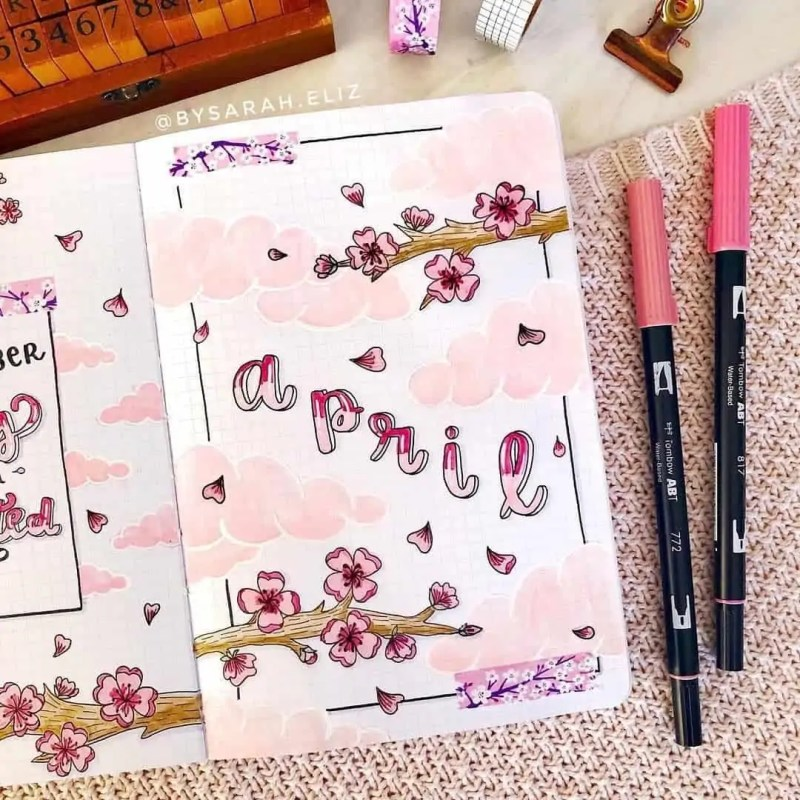 100+ Bullet Journal Ideas that you have to see and copy today! 412