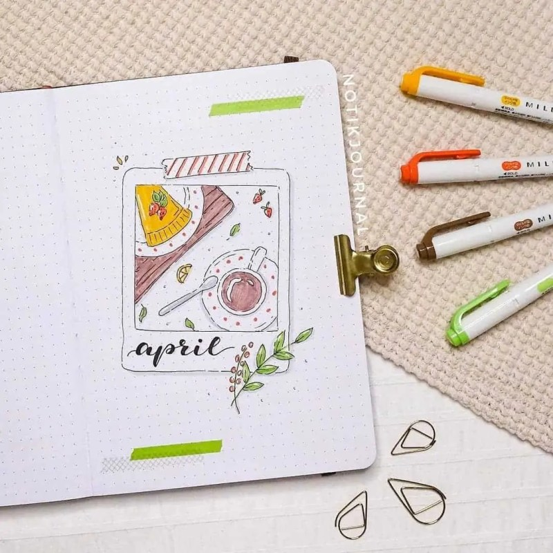 100+ Bullet Journal Ideas that you have to see and copy today! 406