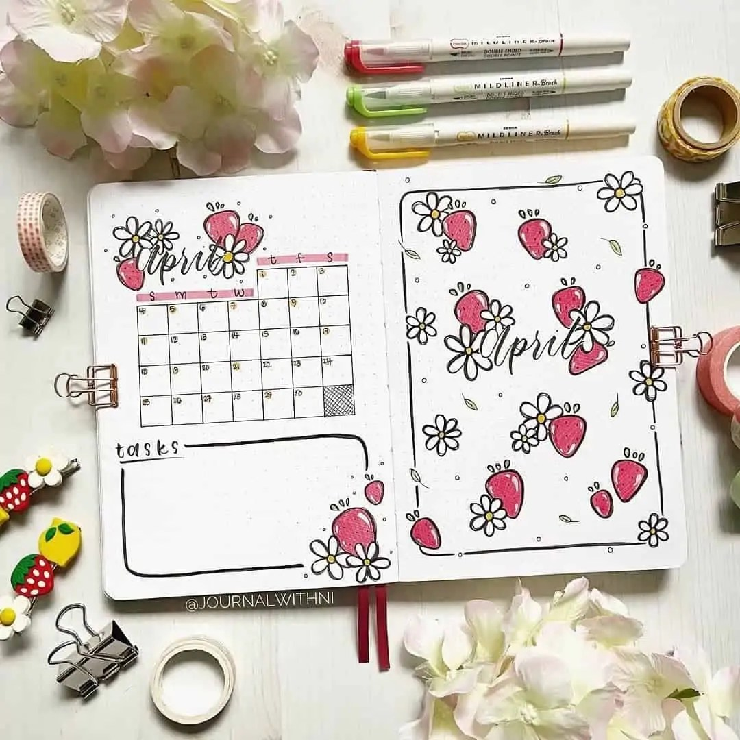 100+ Bullet Journal Ideas that you have to see and copy today! 144
