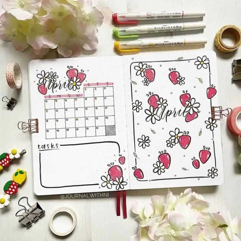 100+ Bullet Journal Ideas that you have to see and copy today! 404