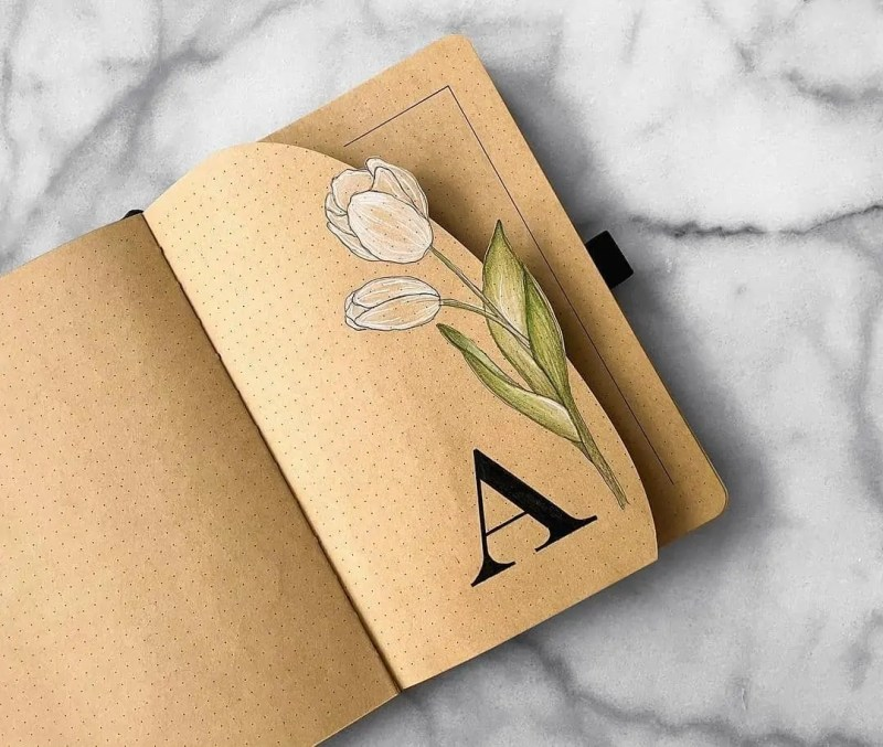 100+ Bullet Journal Ideas that you have to see and copy today! 392