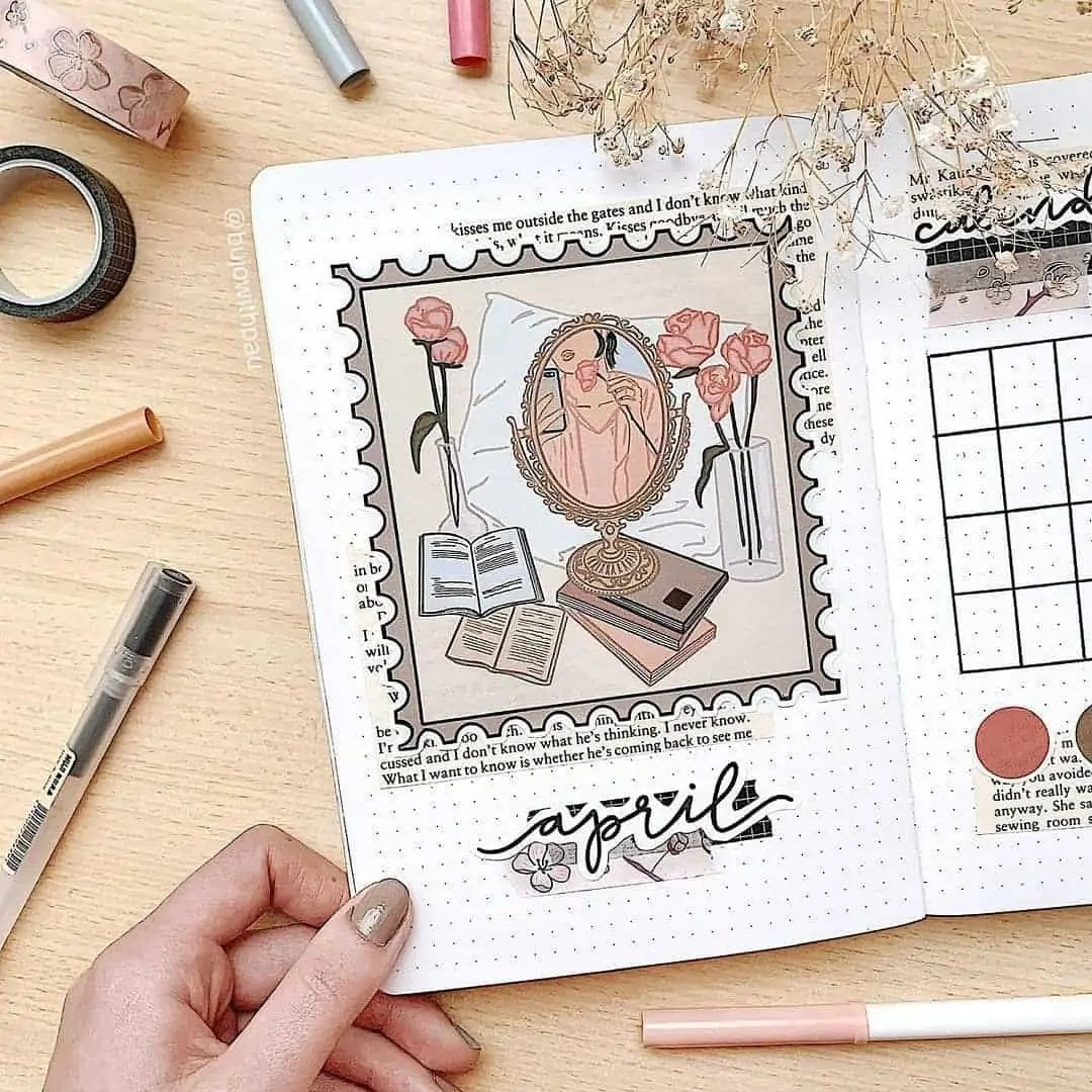 100+ Bullet Journal Ideas that you have to see and copy today! 124