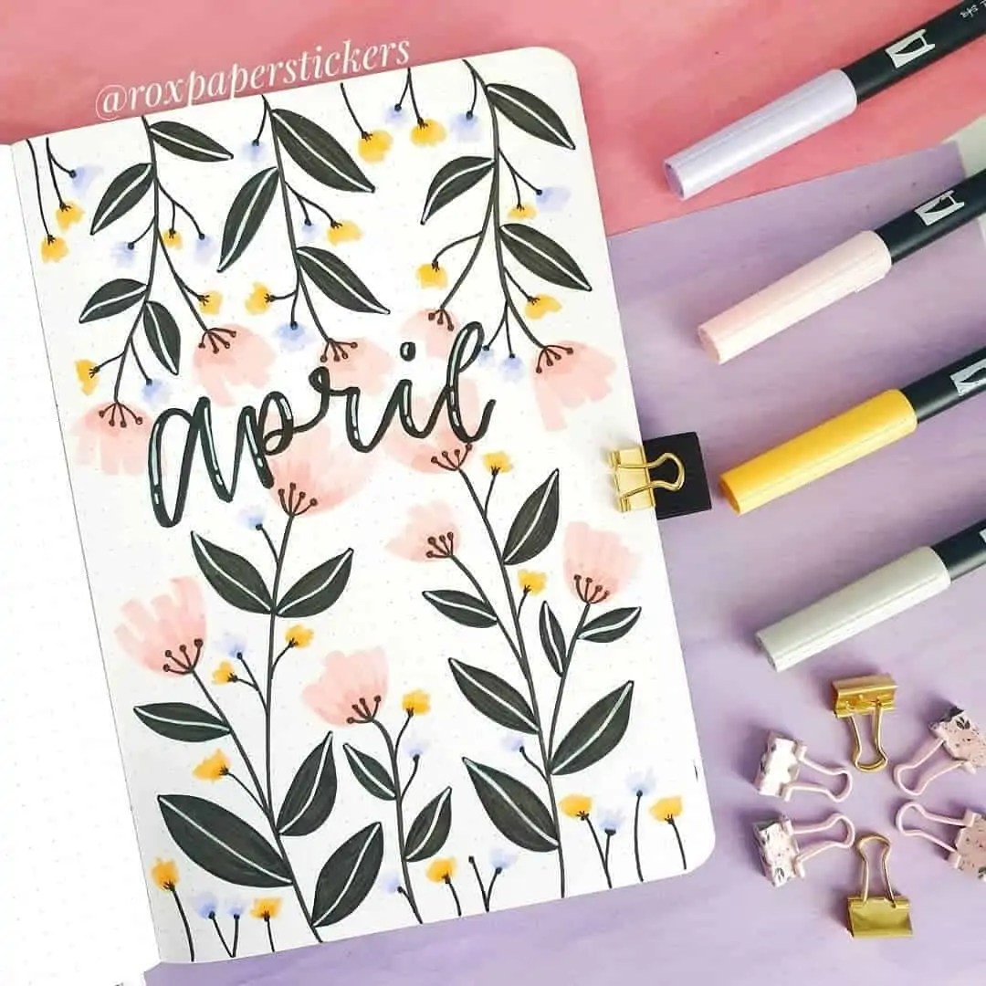 100+ Bullet Journal Ideas that you have to see and copy today! 122