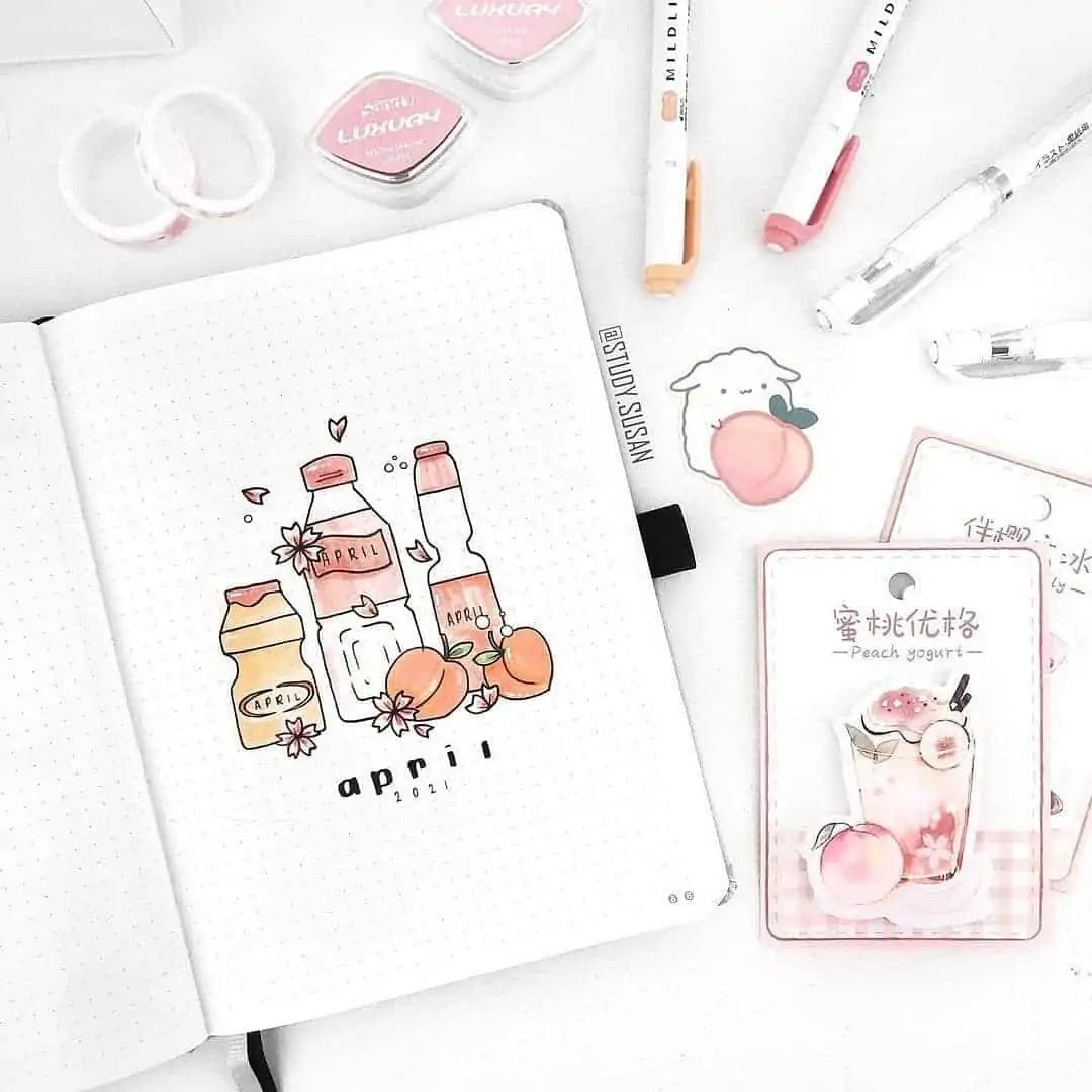 100+ Bullet Journal Ideas that you have to see and copy today! 120