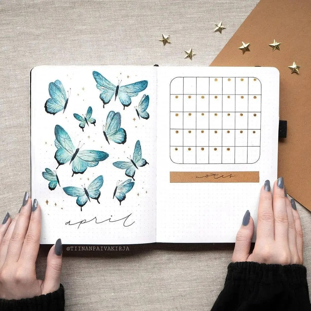 100+ Bullet Journal Ideas that you have to see and copy today! 108