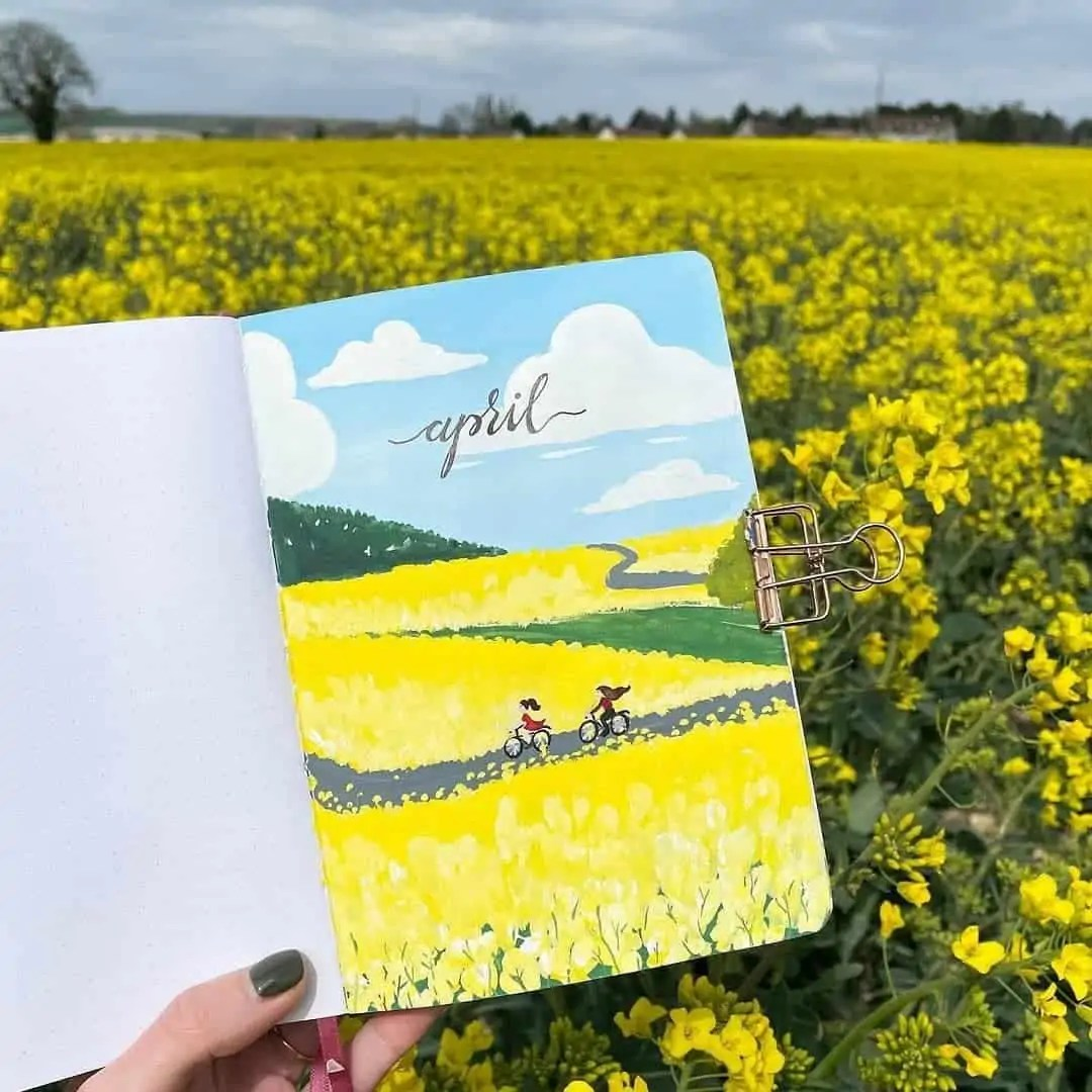 100+ Bullet Journal Ideas that you have to see and copy today! 106
