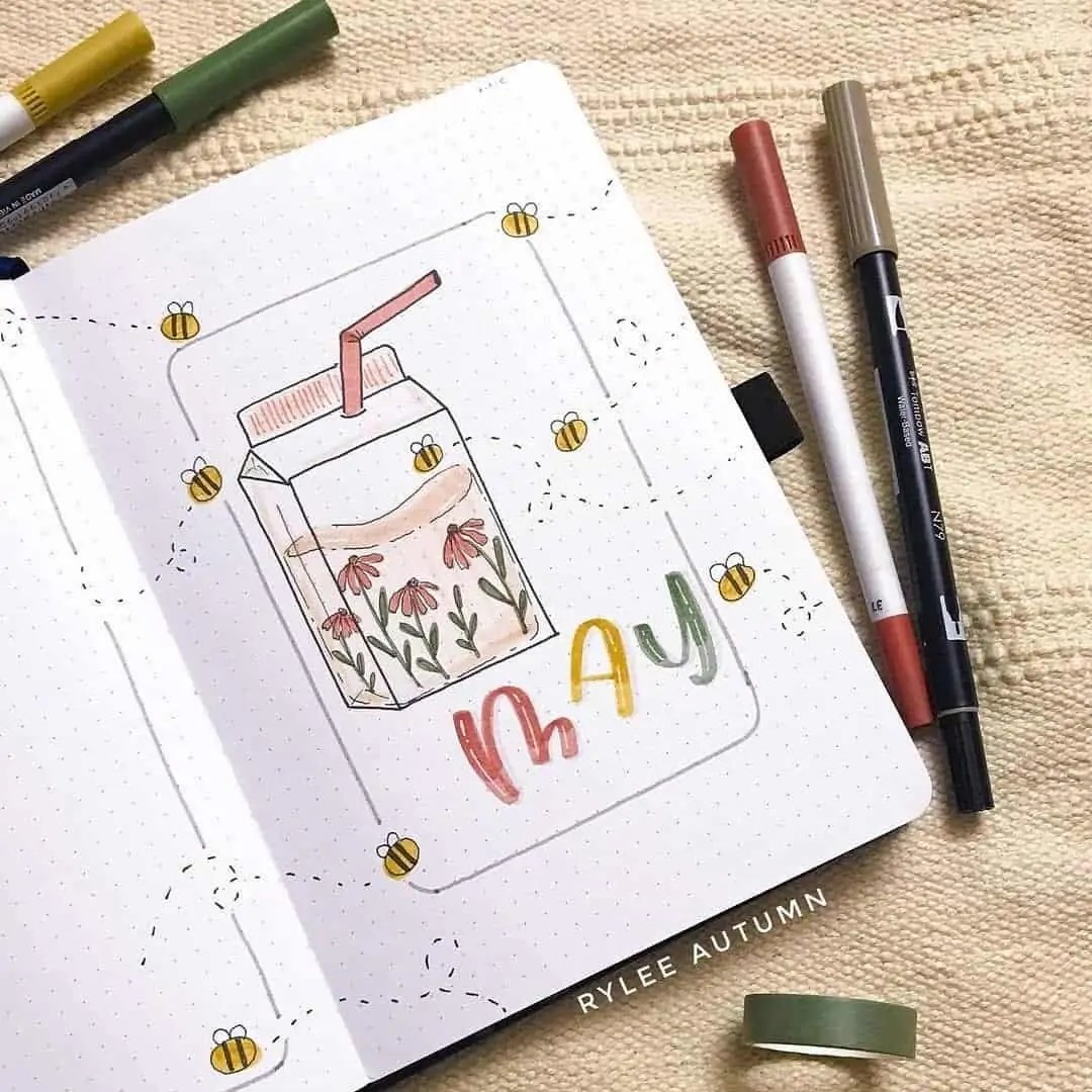 100+ Bullet Journal Ideas that you have to see and copy today! 164