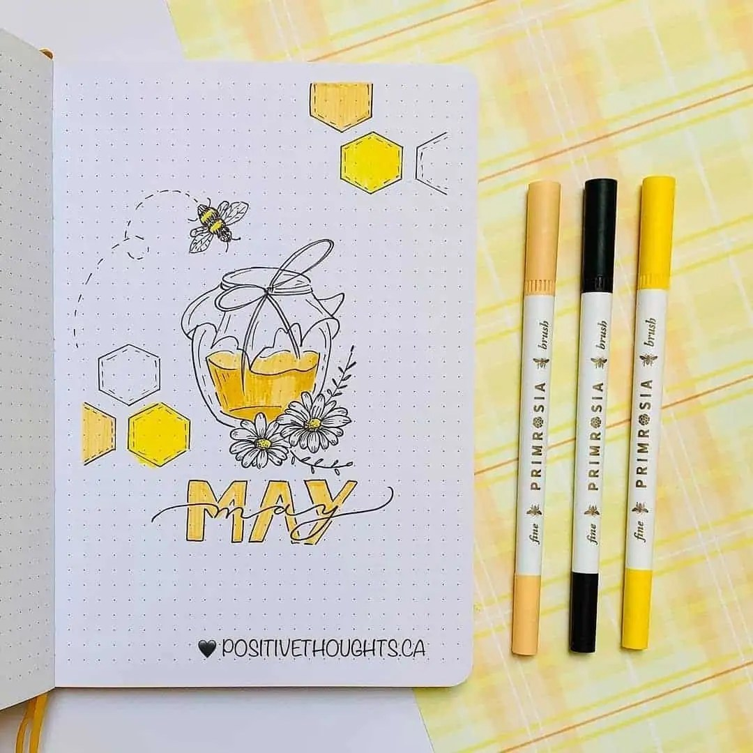 100+ Bullet Journal Ideas that you have to see and copy today! 166