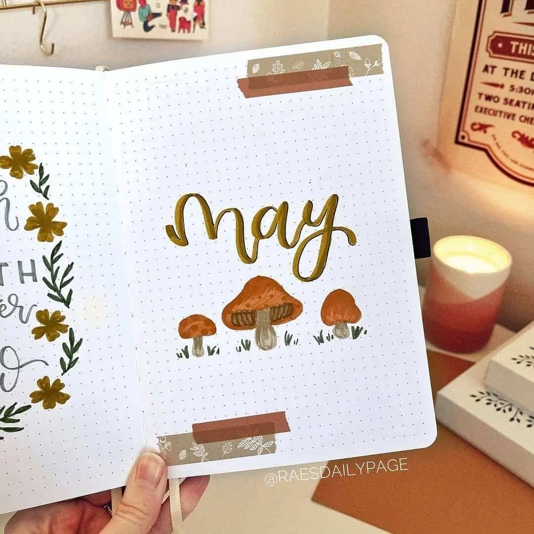 100+ Bullet Journal Ideas that you have to see and copy today! 176