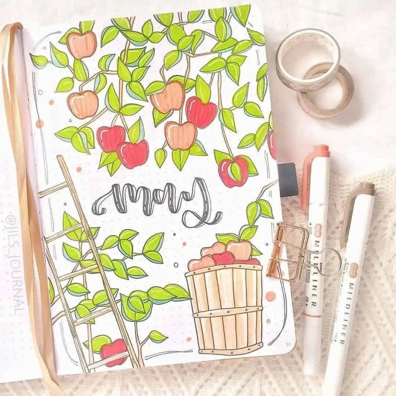 100+ Bullet Journal Ideas that you have to see and copy today! 440