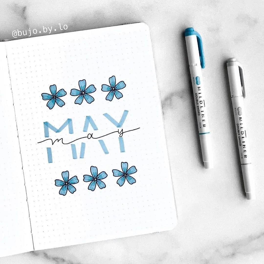 100+ Bullet Journal Ideas that you have to see and copy today! 190