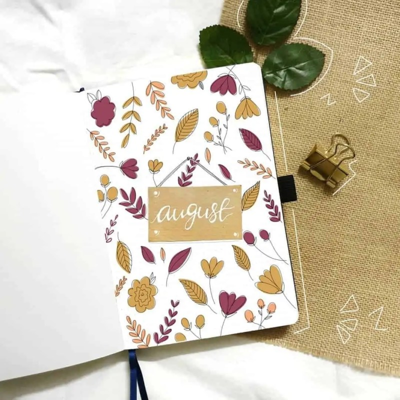 100+ Bullet Journal Ideas that you have to see and copy today! 626