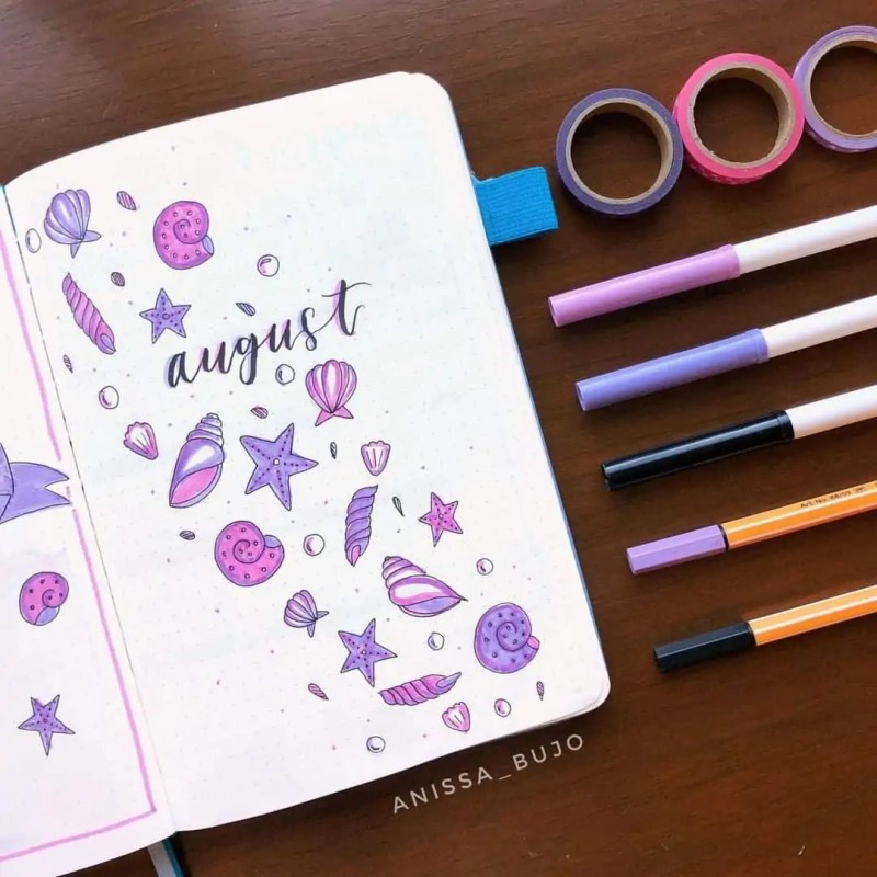100+ Bullet Journal Ideas that you have to see and copy today! 614