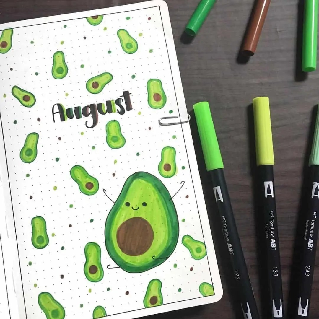 100+ Bullet Journal Ideas that you have to see and copy today! 348