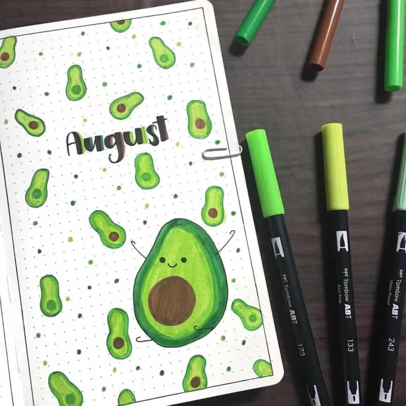 100+ Bullet Journal Ideas that you have to see and copy today! 608