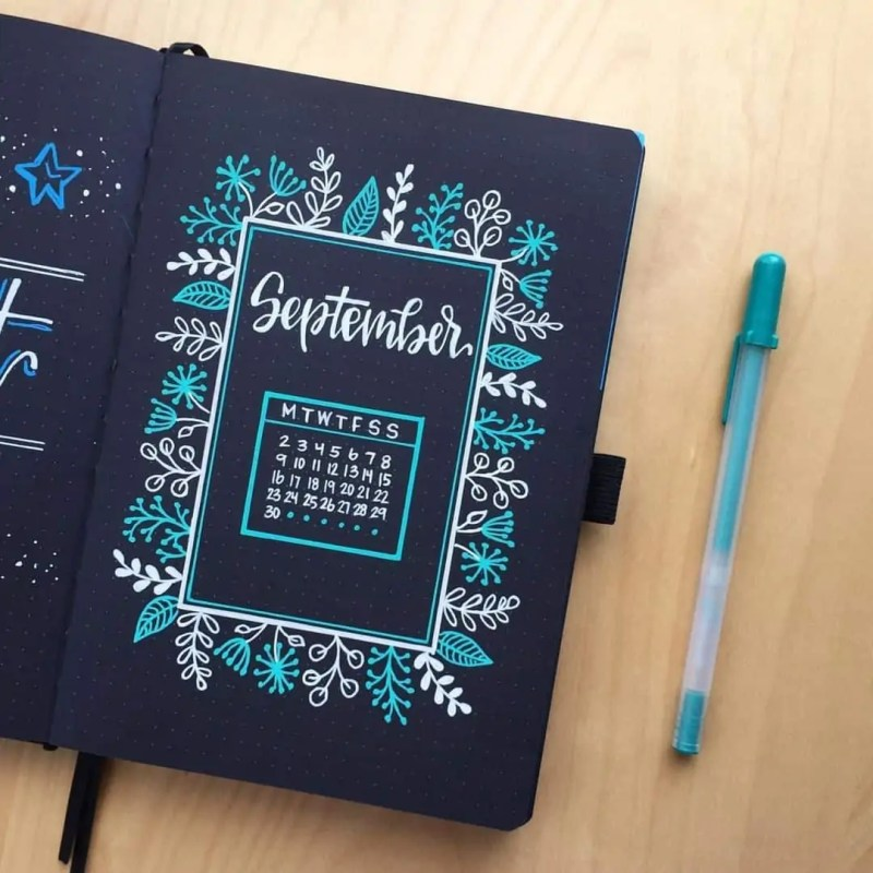 100+ Bullet Journal Ideas that you have to see and copy today! 698