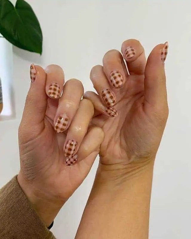 Fall Nails Ideas that you have to see 77
