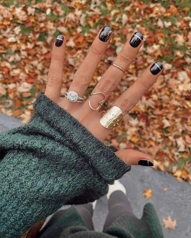 Fall Nails Ideas that you have to see 79