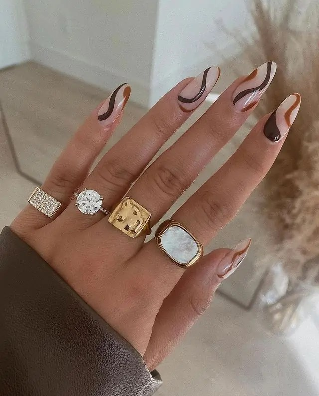 Fall Nails Ideas that you have to see 73
