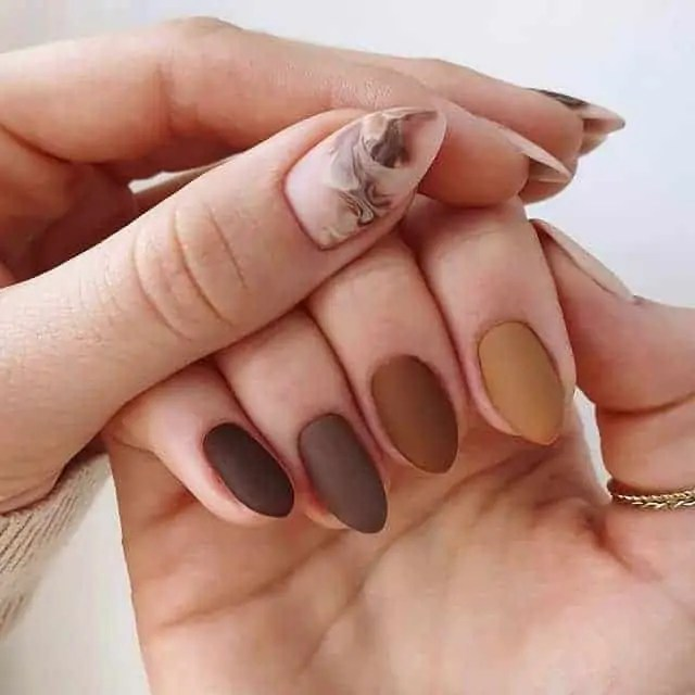 Fall Nails Ideas that you have to see 91