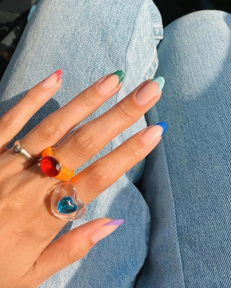 Fall Nails Ideas that you have to see 143