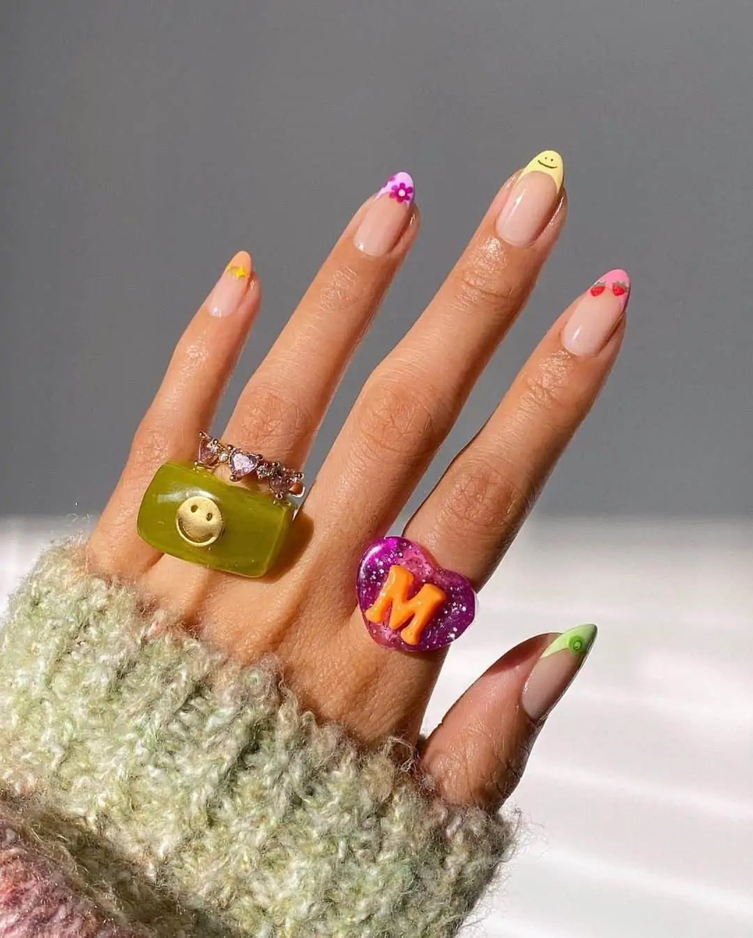 Fall Nails Ideas that you have to see 43