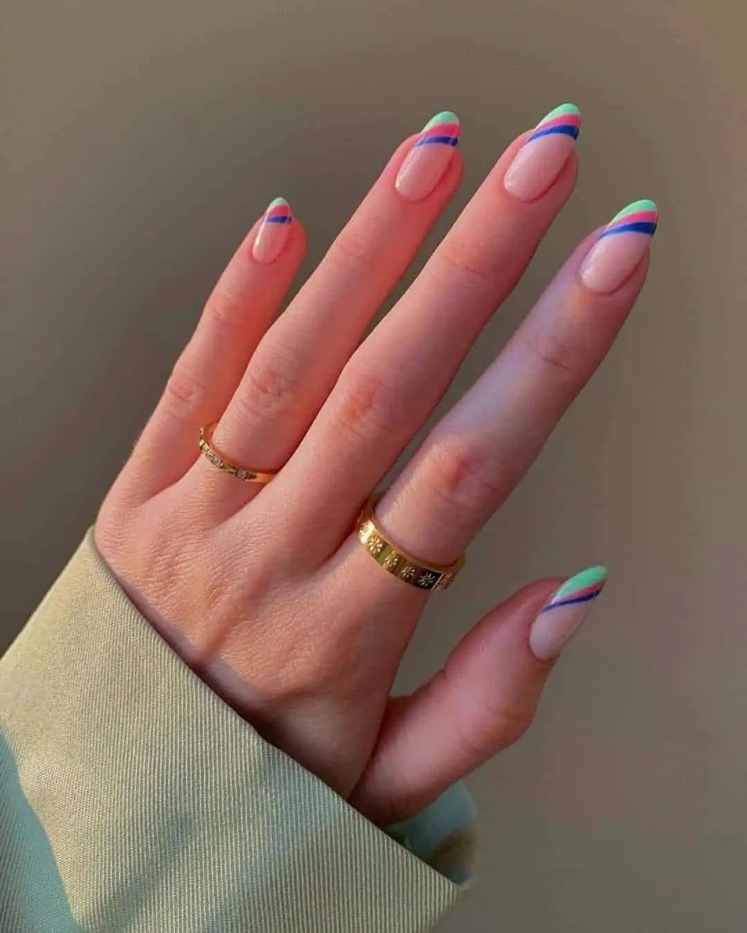 Fall Nails Ideas that you have to see 153