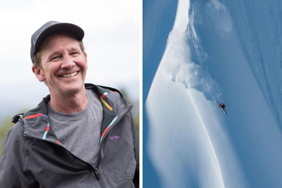 Photographer Flip McCririck + Skiing image