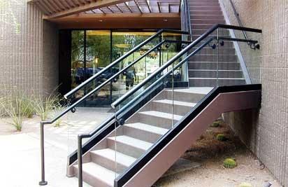 Metal Stair Railings Arizona Wrought Iron Stainless Steel Copper   Rod Iron Stair Railing   Balusters   Horizontal   Ironwork   Banister   Spanish Style