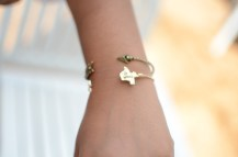 Jazmine's Texas bracelets from the Haute Wheels mobile boutique