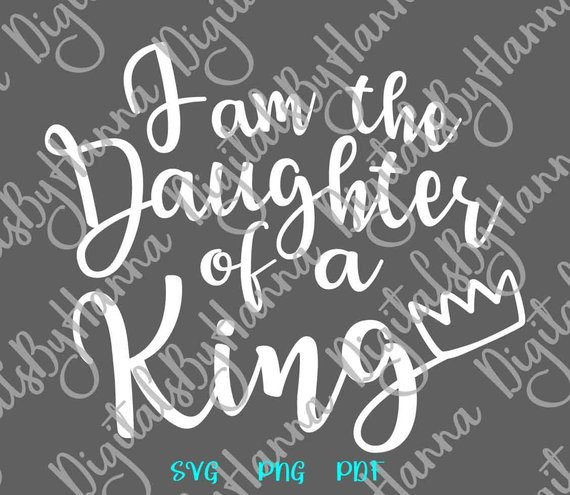 Download Girl Quote Saying I am the Daughter of a King Bible Verse ...