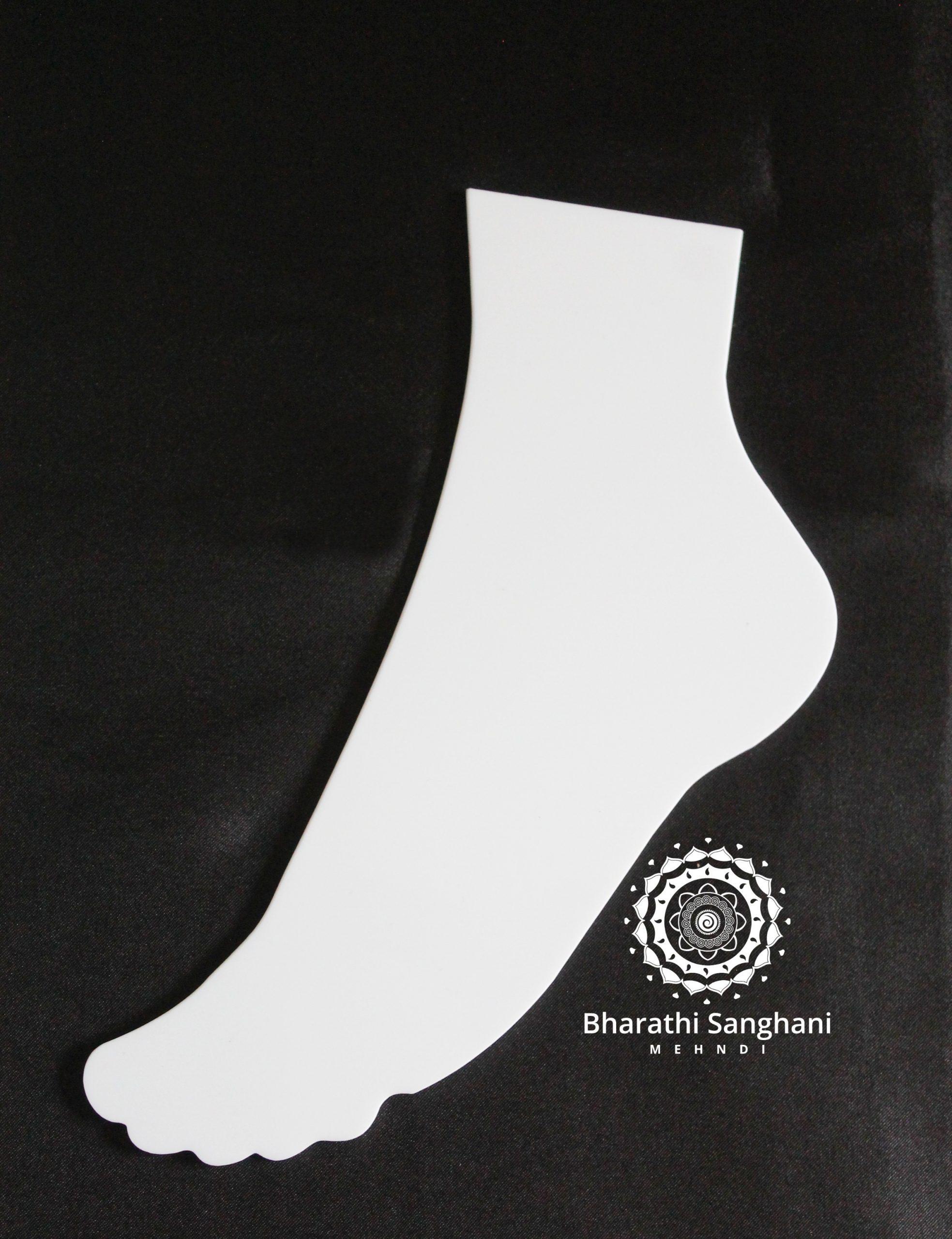 acrylic side foot