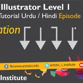 Adobe Illustrator Episode 15(d) – Tabulation – Urdu/Hindi