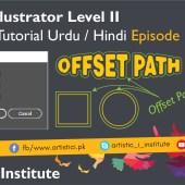 Adobe Illustrator Episode 19 – Offset Path – Urdu/Hindi