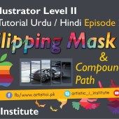Adobe Illustrator Episode 27 – Clipping Mask – Urdu/Hindi