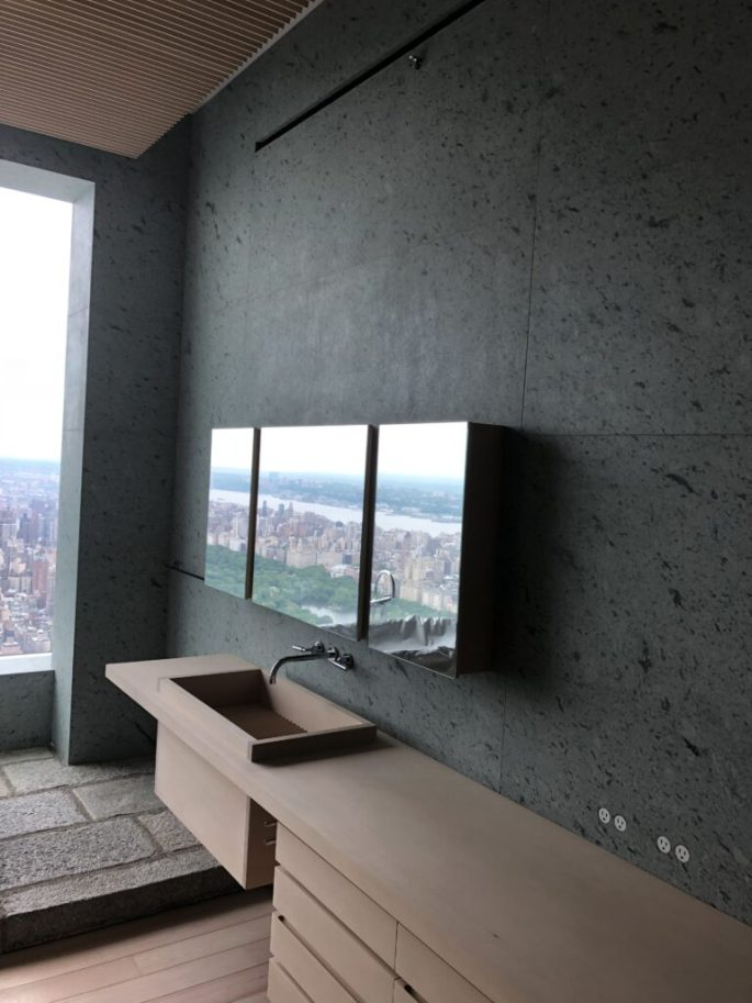 432 Park Ave her bathroom in Japanese marble