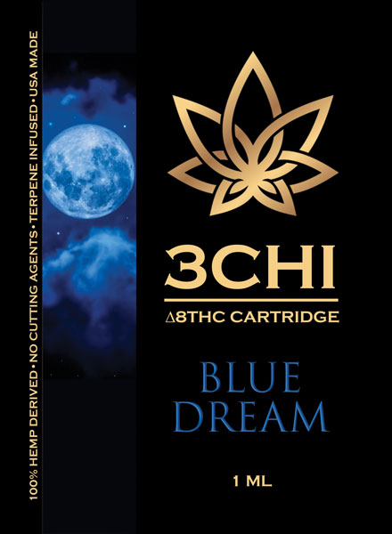 3Chi-Vape-Cart-Insert-Delta-8-Blue-Dream-1ml