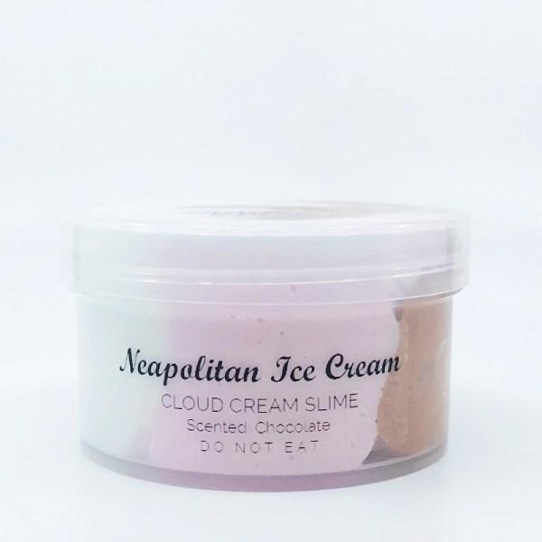 Neapolitan Ice Cream Slime