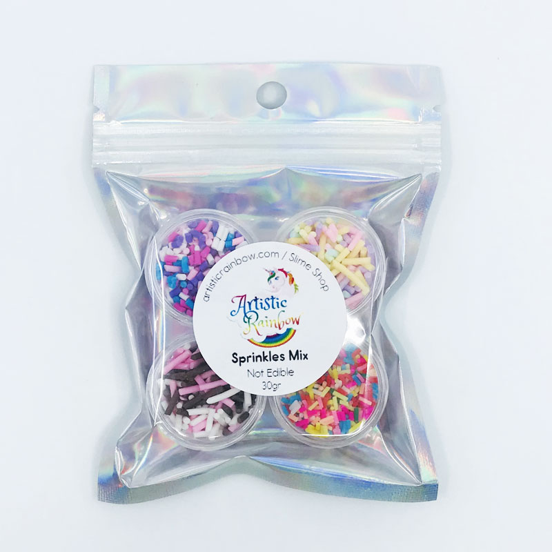 Sprinkles mix for slime