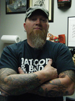 Artist At Artistic Skin Design and Body Piercing