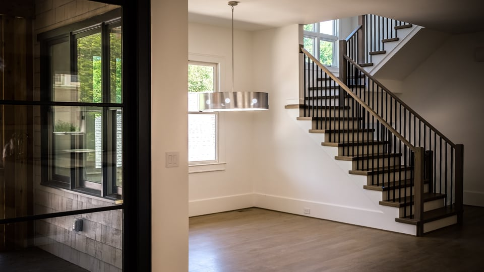 Building A Modern Railing In 2016 Southern Staircase