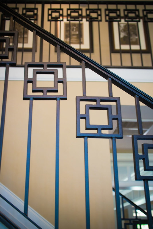 Wrought Iron Stair Railing Southern Staircase Artistic Stairs | Ladder Railing Design Iron | Balcony | Wrought Iron | Railing Ideas | Metal | Baluster