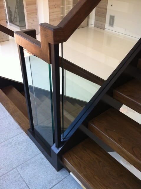 Glass Staircase Southern Staircase Artistic Stairs | Stairs Railing Design In Glass | Indoor Home Depot | Fancy | Painting | Modern | Interior Residential Metal