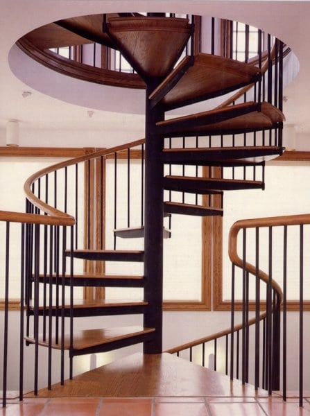 Spiral Stairs Southern Staircase Artistic Stairs | Spiral Stairs For Small Spaces | Second Floor | Low Budget | Square | Low Cost Simple | Metal