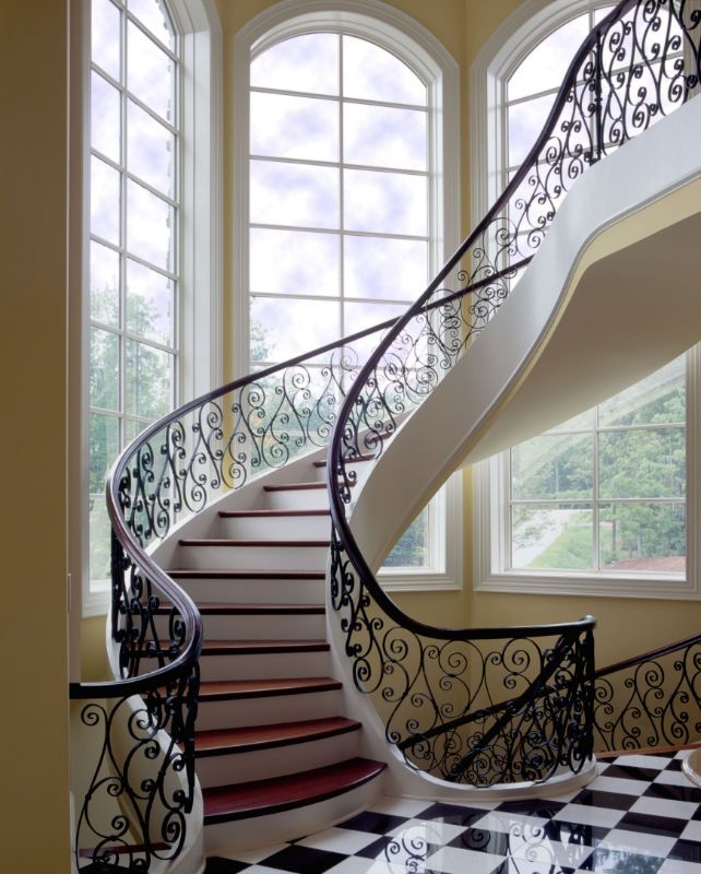 Home Southern Staircase Artistic Stairs   Glass Banister Near Me   Floating Staircase   Interior Railings   Interior Stairs   Spiral Staircase   Frameless Glass